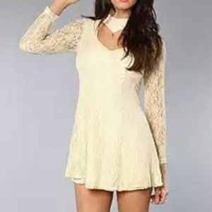 Size XS.  New with tags lace overlay dress